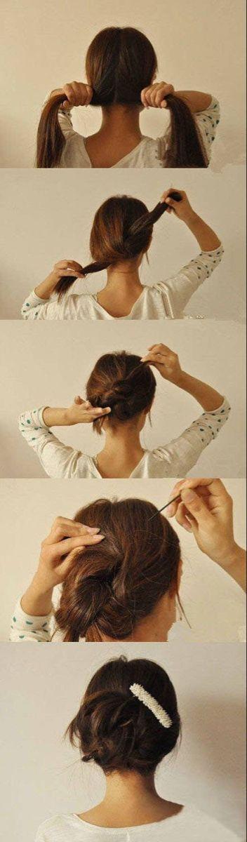 25 Tips And Tricks To Get The Perfect Bun Haar Tutorial Lange Haare Frisuren Themen