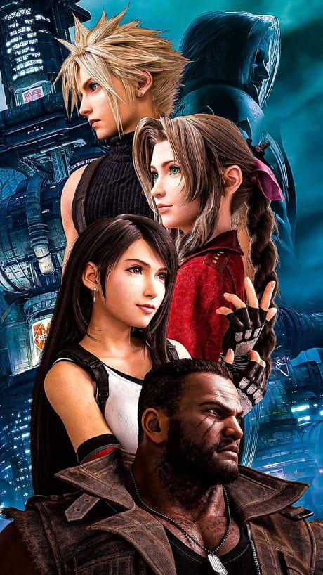 9gag Wallpapers Iphone Insta Final Fantasy X Final Fantasy Xv Tifa Ff7 Remake