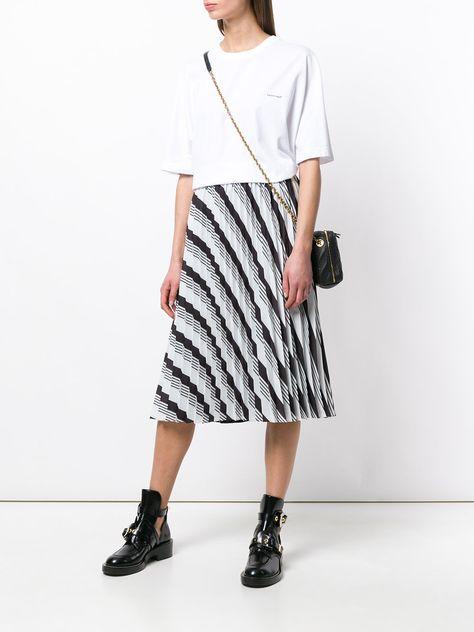09dedfa783ab Balenciaga Sunray Pleated Skirt
