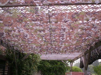 Sono Light Filet De Camouflage Plafond Cabane
