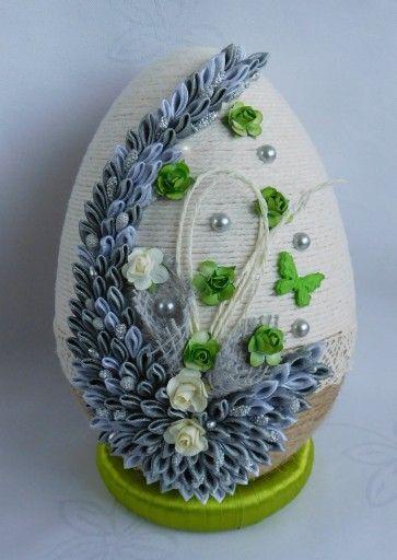 Duze Jajko Pisanka Ozdoby Wielkanocne Rekodzielo 7875771468 Oficjalne Archiwum Allegro Bowl Tableware