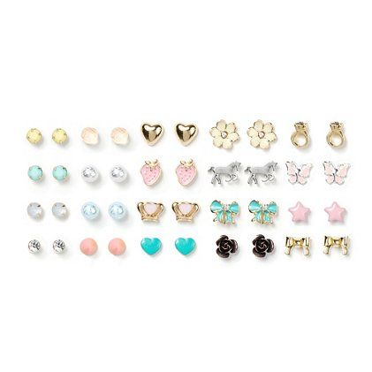 Orted Y Shapes Stud Earrings Set Of 20 Claire S