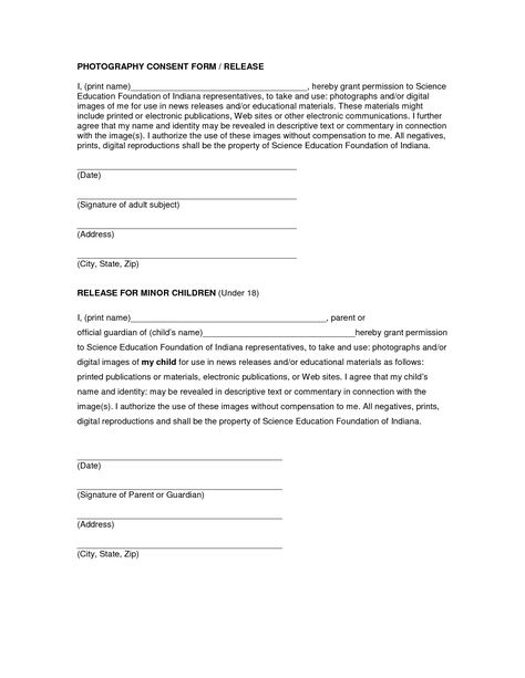 minor child travel consent letter medical sample authorization