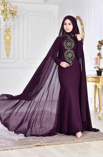 Sefamerve Tesettur Payetli Abiye Elbise Modelleri Elbise Modelleri Elbise The Dress