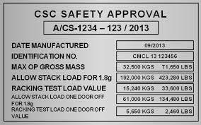 Resultado De Imagem Para Csc Plate Container Container Airline