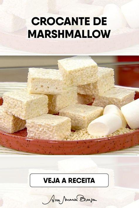 Ingredientes 90 g de manteiga 600 g de marshmallows em pedaços pequenos 360 g de flocos de arroz