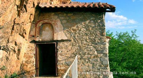 Saint Atanasius cave monastery, Kalista Struga. Macedonia | Republic of  macedonia