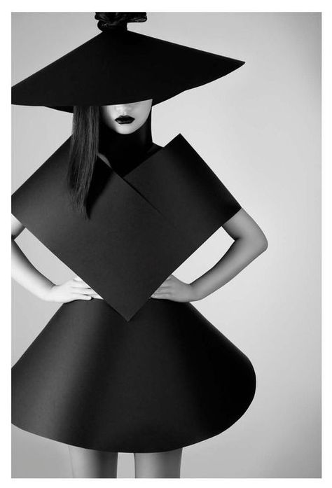 Shape & Volume - 3D geometric fashion; suprematism; strong sculptural…