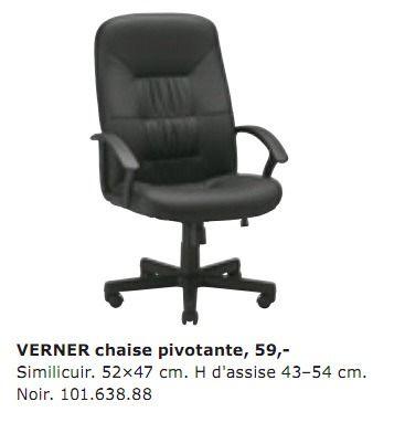 Ikea Chaise Bureau Ikea Promotion Verner Chaise Pivotante Produit Maison Ikea Avec Office Chair Chair Office