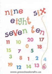 12 best Free Printable Numbers Worksheets for Kids images on ...