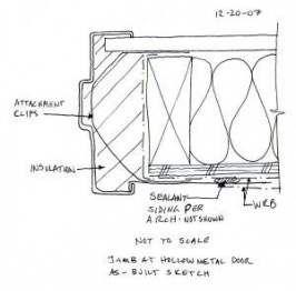 61 Trendy Steel Door Frame Detail Hollow Metal Doors Metal Door Steel Doors Exterior