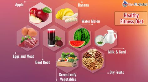 9 Foods For Fitness Along With The Fitness Tips- Check It Out!