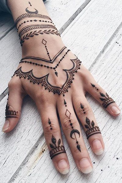 25 Awesome Hand Tattoo Designs In 2020 Henna Tattoo Designs Hand Henna Tattoo Hand Henna Tattoo Designs