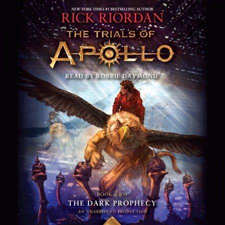 Books In 2020 The Dark Prophecy Trials Of Apollo Audio Books