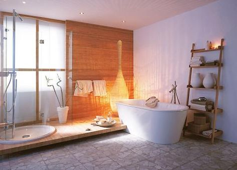 Wellness Badezimmer Als Private Spa Schoner Wohnen Badezimmer Badezimmer Ohne Fenster Badezimmer Deko
