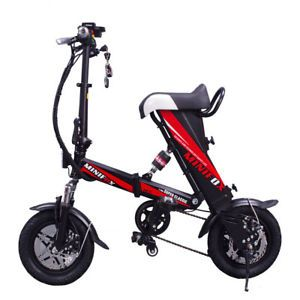 Details About Engwe Ebike 250w Mini Folding Electric Bike Scooter