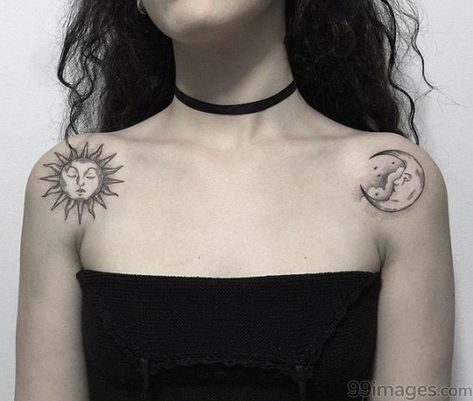 🔥  Latest Moon Tattoos (HD Photos) - #13813 #moontattoos #tattoos