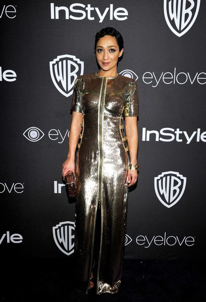 Ruth Negga - All the Cool Girls Were Wearing Insanely Sparkly Dresses to the 2017 Golden Globes After Party  - Photos