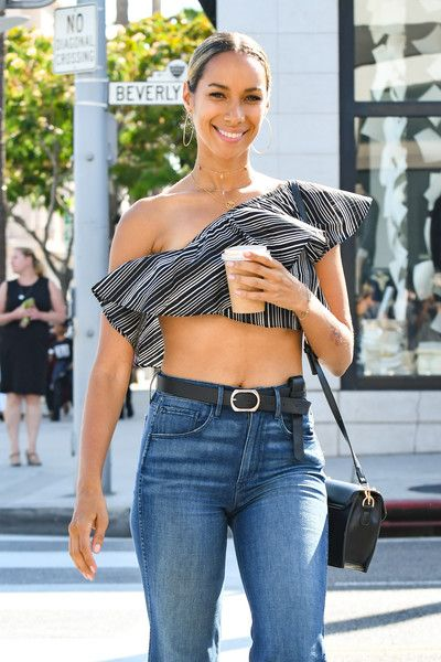 Leona Lewis is seen out and about in Los Angeles.