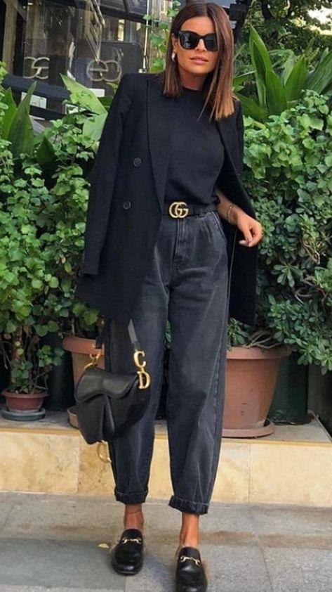 50 sugestões de looks feminino e masculino em preto completo - Blog da Mari Calegari