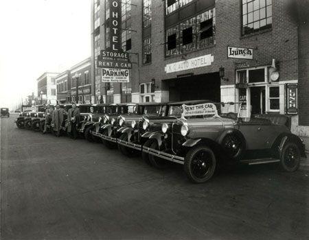 Front Of The K C Auto Hotel And Car Rental On Cincinnati Avenue