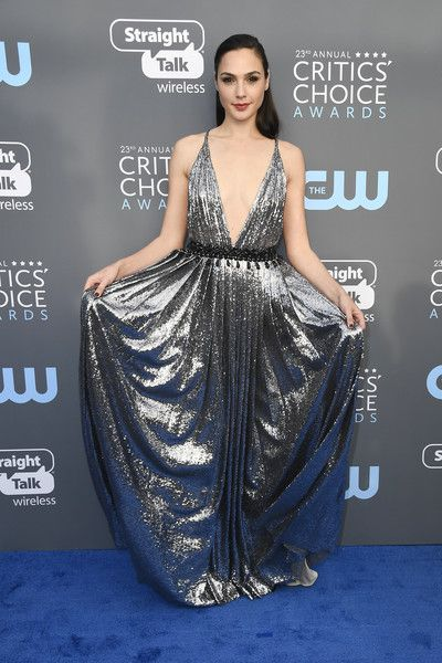 Actor Gal Gadot attends the 23rd Annual Critics' Choice Awards.