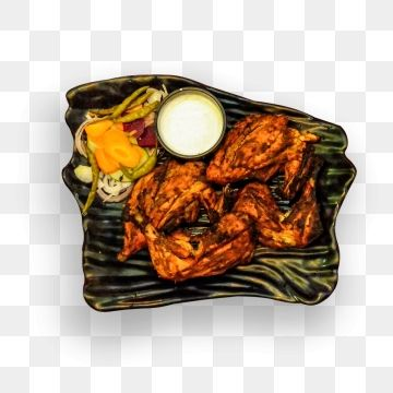 Chicken Wings On Plate With Cheese Sauce And Salad Chicken Isolated Buffalo Png Transparent Clipart Image And Psd File For Free Download Hot Appetizers Food Clipart Chicken Wing Sauces
