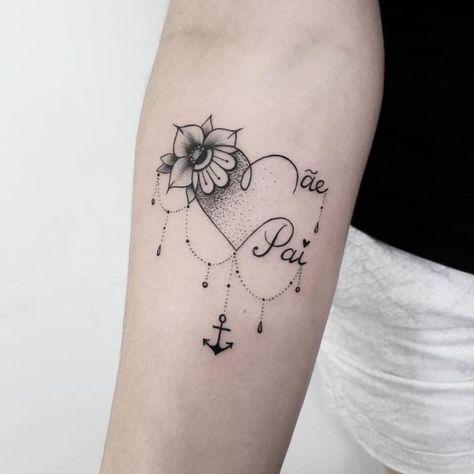 Tattoo- Tatuagem  Tattoo   -#warriorWomensTattoo #WomensTattoodesign #WomensTattooforkids #WomensTattoolotus #WomensTattooplacement