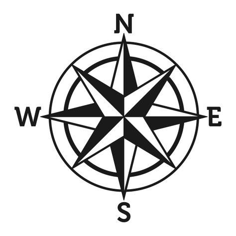 Compass Rose Svg Cuttable Designs