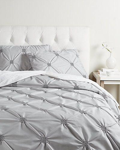 Rue La La Diamond Pintuck Duvet Cover Set Pintuck Duvet Cover Bedroom Layouts Duvet Cover Sets