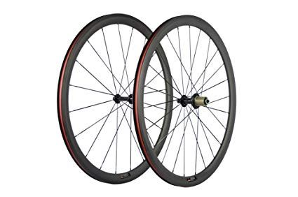 Sunrise Bike 1 Pair Of Road Bike Carbon 700c Clincher Wheelset