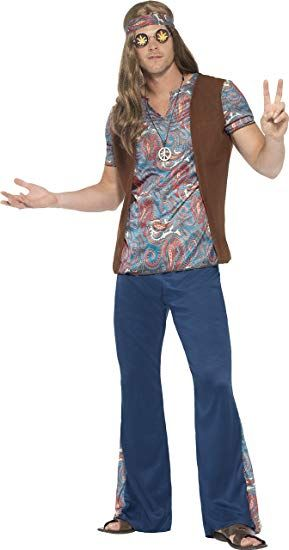 70s Mens Outfit Hippie Costume Hippy Fancy Dress Hippie Costume Hippie Outfits