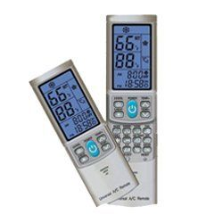 Universal AC Remote Control (SILVER GREY) For Mini-split ductless air conditioners replacing most models of CARRIER CHIGO ELECTROLUX FUJITSU GOLDSTAR HAIER HITACHI HYUNDAI LG MCQUAY MIDEA MITSUBISHI PANASONIC PHILCO SAMSUNG SANYO SHARP TADIRAN TOSHIBA TRANE WHIRLPOOL UNI-AIR YORK (SILVER GREY COLOR) - http://appliances.wegetmore.com/universal-ac-remote-control-silver-grey-for-mini-split-ductless-air-conditioners-replacing-most-models-of-carrier-chigo-electrolux-fujitsu-goldst