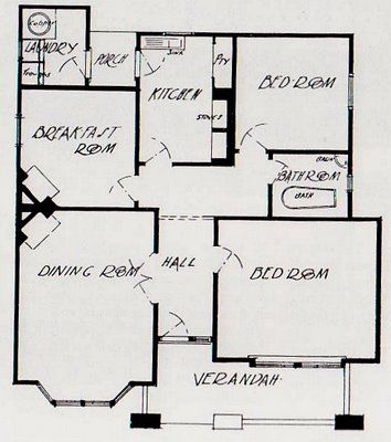 Art And Architecture Mainly Californian Bungalow Australia S Favourite Interwar Home California Bungalow Bungalow Floor Plans Bungalow