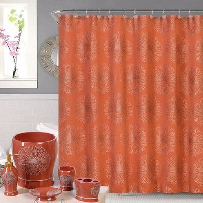 House Of Hampton Harbison Single Shower Curtain Curtains Shower