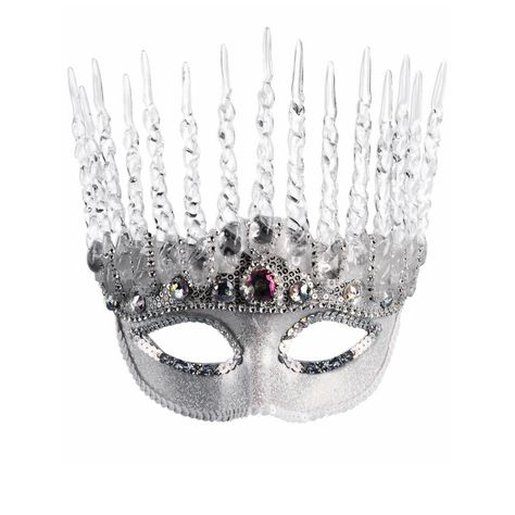 Details about  /NEW Themed   Party Silver Sequin Black Swish Mask