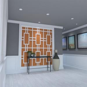 Ekena Millwork 3 8 In X 15 3 4 In X 23 3 4 In Large Hastings White Architectural Grade Pvc Decora White Wall Paneling Decorative Wall Panels Pvc Wall Panels