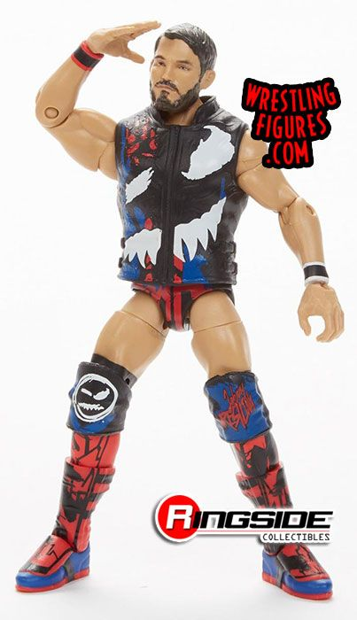 WWE Johnny Gargano Mattel Elite SERIES 70 Wrestling Figure Action NXT WWF Nouveau