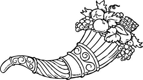 Cornucopia Coloring Pages Free Coloring Pages For Kidsfree
