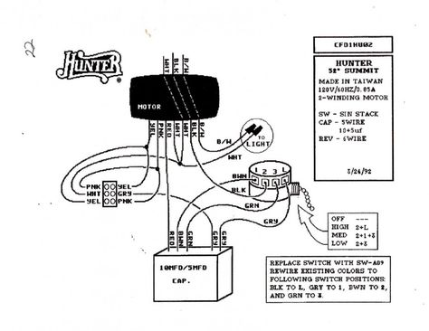 77 Wiring Diagram For Hunter Ceiling Fan With Light Best Cheap
