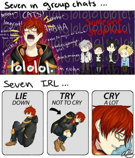 Anime Art 4 the Soul ( ͡° ͜ʖ ͡°) — Because Mystic Messenger is taking over my life, I...