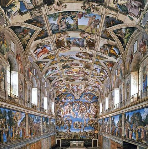 Michelangelo Buonarroti 1475 1564 Sistine Chapel Ceiling