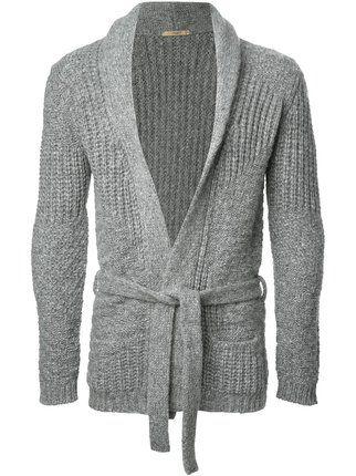 Herren stilvolle Slim Fit Knit Cardigan V-Neck lang Strickjacke Mantel Jacke Top