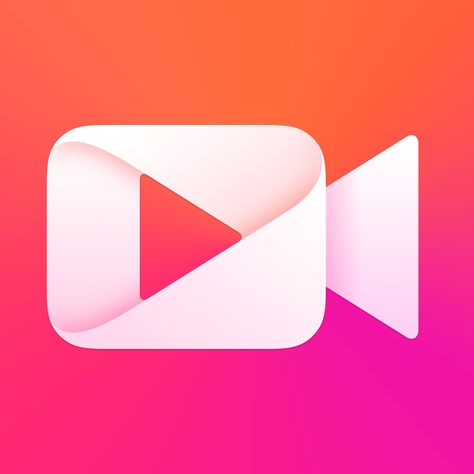 Meipai The Hottest Short Video Community App Icon App Icon Design Logo Design Infinity Icon Design Inspiration