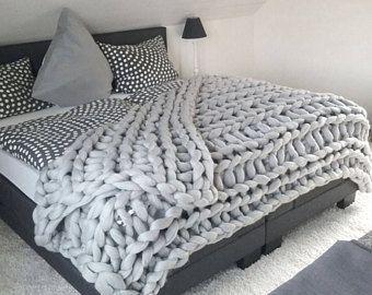 Bettüberwurf Für Doppelbett.Konigin Grosse Klobig Decke Weichsten Wolle Bettuberwurf Fur