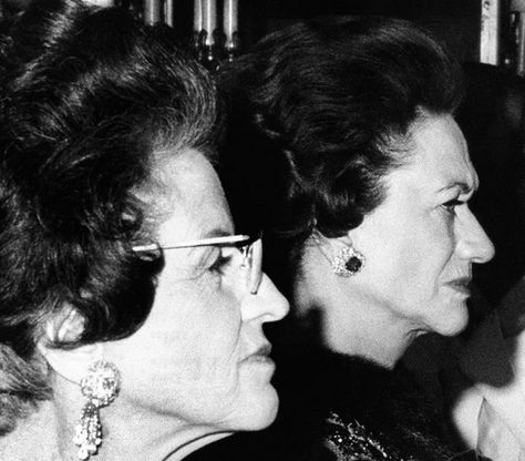 Wallis Simpson and Rose Kennedy