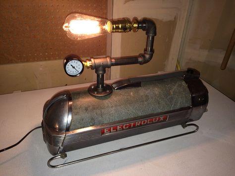 Vintage Electrolux Vacuum Cleaner Lamp