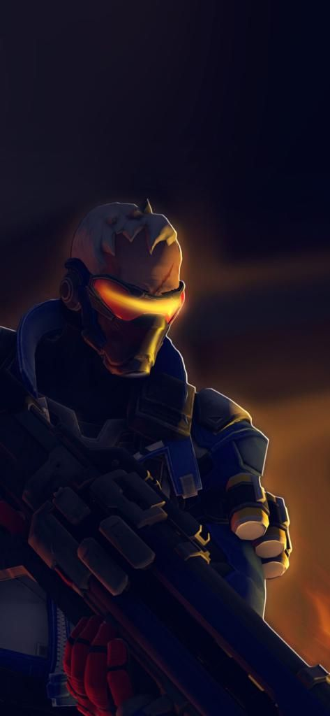 Overwatch Soldier Game Iphone X Wallpaper HD