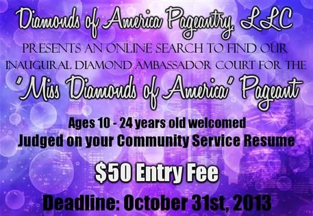 Community Service minded online Pageant Queens contest Road to - community service on resume