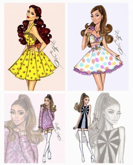 32 Ideas For Fashion Sketches Hayden Williams Ariana Grande